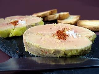 cr me br l e au foie gras la recette avec photos. Black Bedroom Furniture Sets. Home Design Ideas
