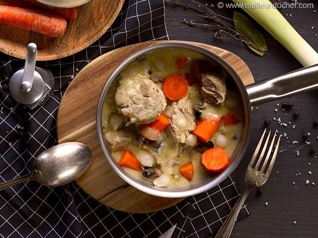 Comment r aliser une bonne blanquette de veau - Recette de cuisine blanquette de veau ...
