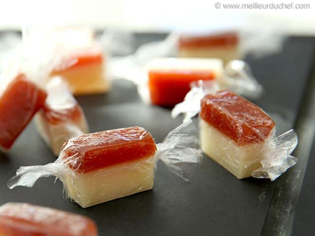bonbons au fromage de brebis et p 226 te de coings recette de cuisine avec photos meilleurduchef