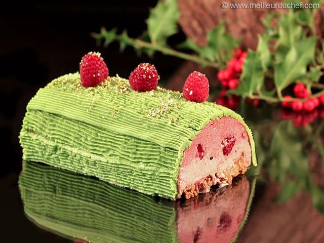 b che de no l fraises framboises recette de cuisine avec. Black Bedroom Furniture Sets. Home Design Ideas