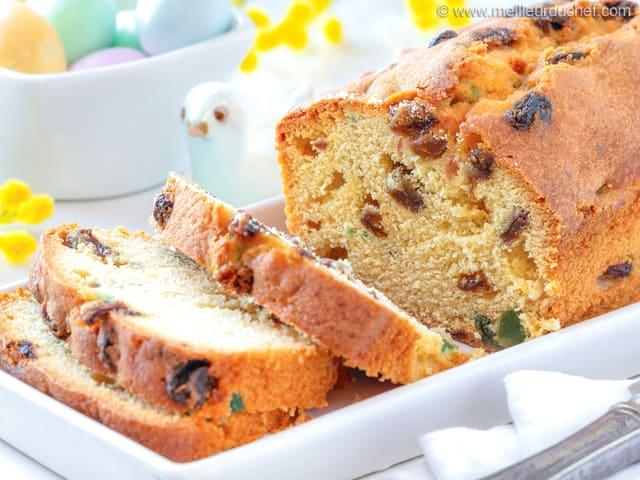 Cake Fruit Confits Sans Oeuf