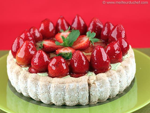 Charlotte aux fraises la recette avec photos - Jeux de charlotte aux fraises cuisine gateaux ...