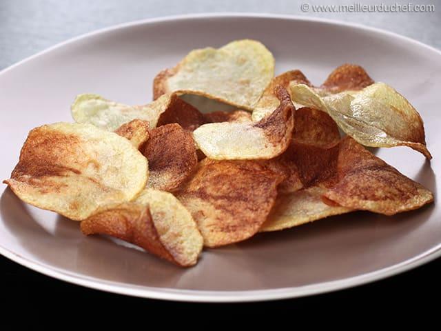 chips recette de cuisine avec photos. Black Bedroom Furniture Sets. Home Design Ideas