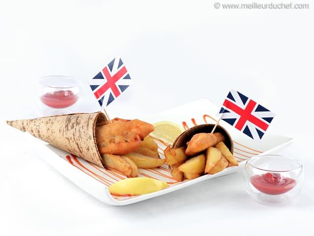Fish and chips recette de cuisine avec photos - Chef de cuisine en anglais ...