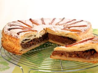 Galette frangipane aux pommes recette de cuisine avec - Galette des rois decoration ...
