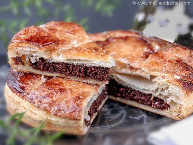 Galette des rois au chocolat recette de cuisine avec photos - Galette des rois herve cuisine ...