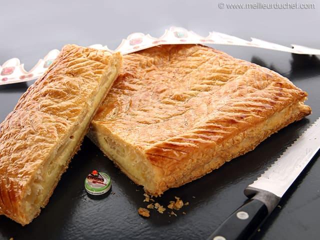 Galette frangipane aux pommes recette de cuisine avec - Decor galette des rois ...