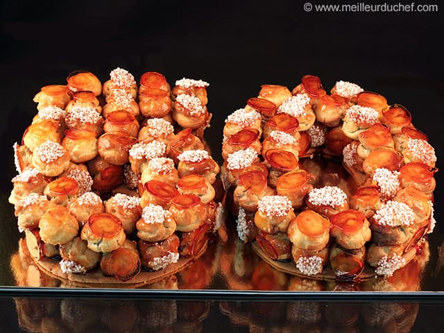 g teau d 39 anniversaire fa on croquembouche fiche recette avec photos. Black Bedroom Furniture Sets. Home Design Ideas