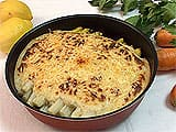 Asperges en gratin