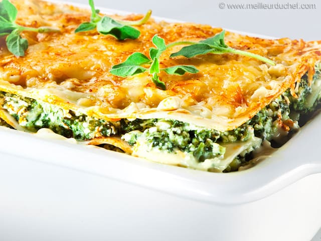 Lasagnes aux epinards jambon et champignons recette de - Ustensile de cuisine en anglais ...