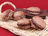 Macarons au chocolat