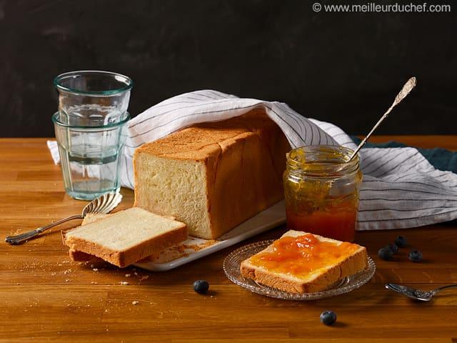 pain de mie recette de cuisine illustr e meilleur du chef. Black Bedroom Furniture Sets. Home Design Ideas