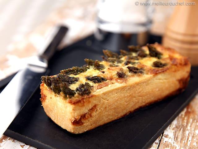 Quichette aux asperges vertes la recette avec photos - Recette asperge verte poelee ...