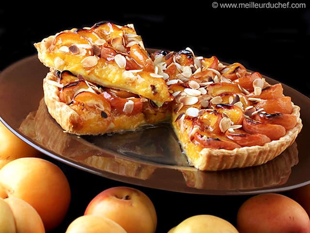 tarte aux abricots fiche recette. Black Bedroom Furniture Sets. Home Design Ideas