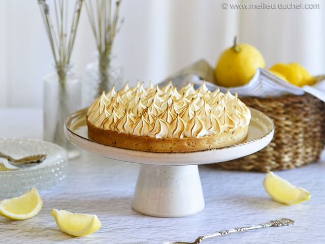 Tarte au citron meringu e la recette avec photos - Recette tarte au citron sans meringue ...