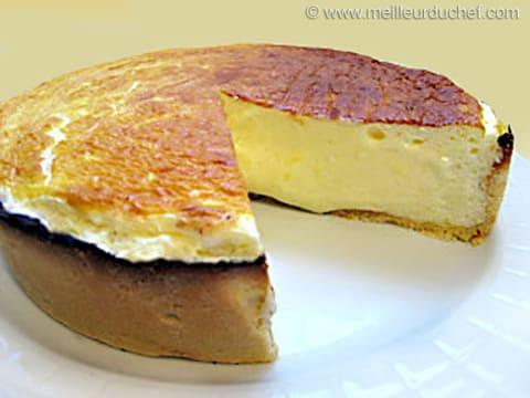 tarte fromage blanc la recette illustr e. Black Bedroom Furniture Sets. Home Design Ideas