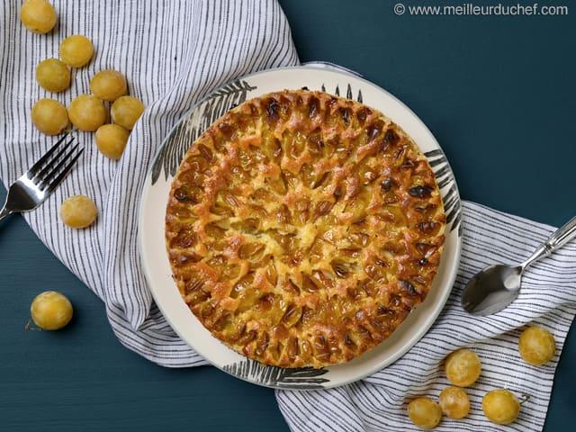 tarte aux mirabelles fiche recette avec photos meilleurduchef