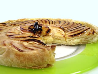 Tarte aux pommes