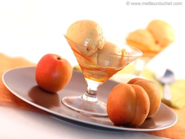 Apricot Sorbet - Our recipe with photos - MeilleurduChef.com