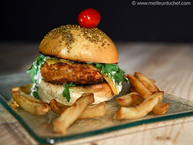 Fish Burger Illustrated Recipe Meilleurduchef Com