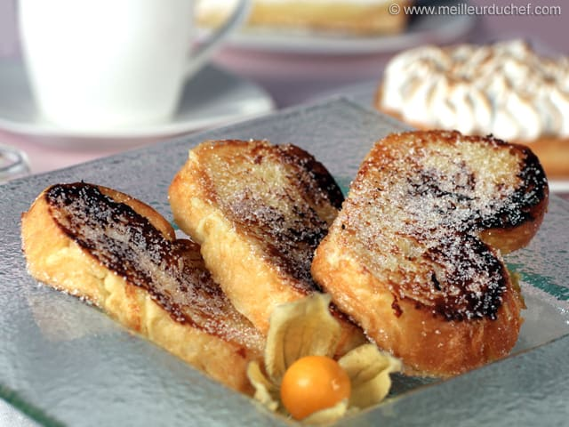 Pain Perdu - Our recipe with photos - MeilleurduChef.com
