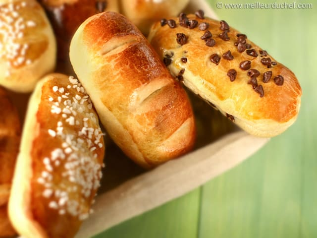 Pain au Lait Buns - Our recipe with photos - MeilleurduChef.com