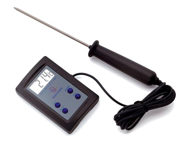 Termometro Di Cottura A Sonda Elettronica Da 50 C A 200 C Matfer Meilleur Du Chef Termometro digital cocina con sonda alimentos liquidos carne. termometro di cottura a sonda elettronica da 50 c a 200 c matfer