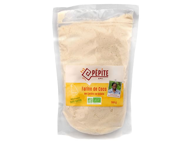 Organic Coconut Flour 500g - Agro Sourcing