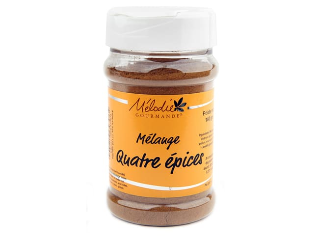 French Four Spice Blend 140g - Mélodie Gourmande