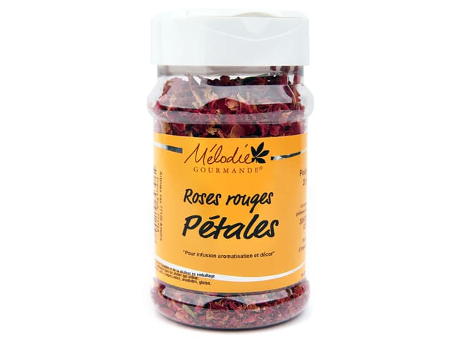 Red Rose Petals 20g - Mélodie Gourmande
