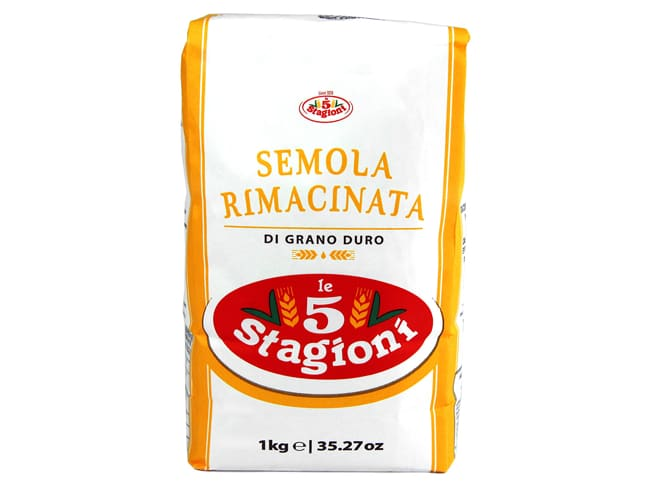 Durum Wheat Semolina Flour 1kg