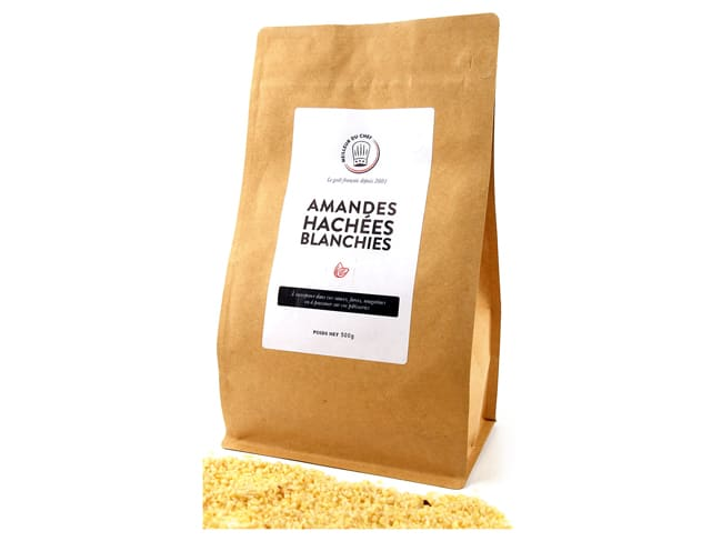 Chopped Blanched Almonds - 500g