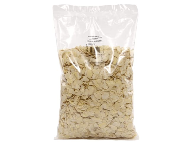 Flaked Blanched Almonds - 1kg