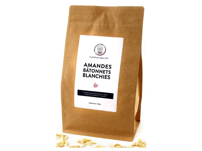 Blanched Slivered Almonds - 500g