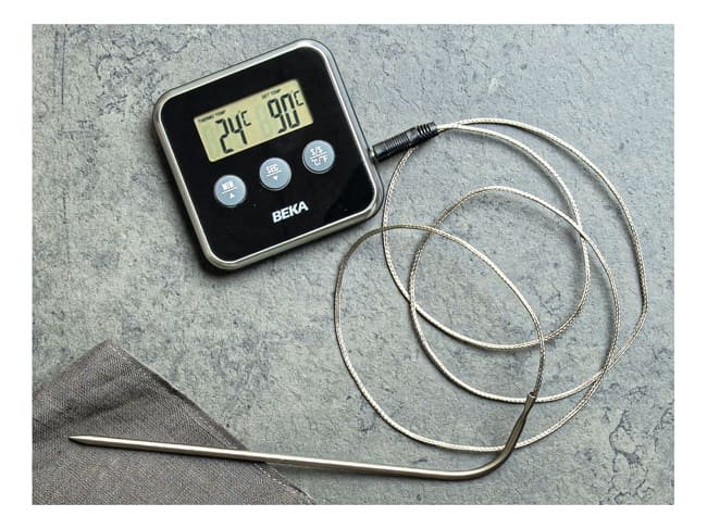 Cooking Thermometer with Removable Probe - 0°C to +250°C - Beka