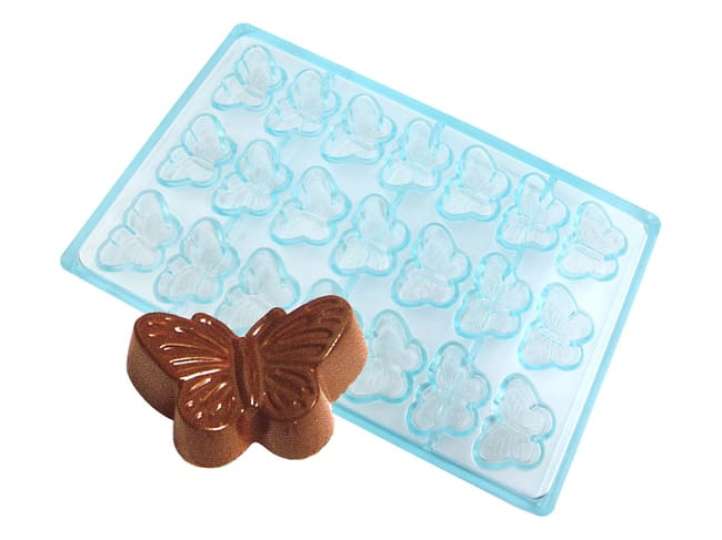 Butterfly Chocolate Mould - 21 Cavities