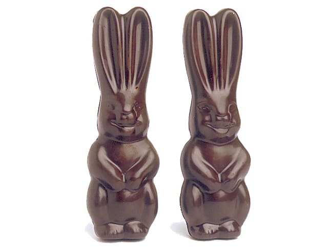 Chocolate Copolyester Mould - Rabbit (6 cavities)