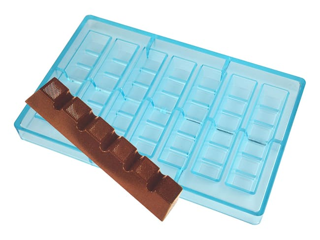 Chocolate Mould - 7 Assorted Bars