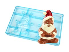 Chocolate Mould - Santa Claus Gnome