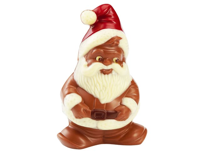 Chocolate Mould - Santa Claus Gnome - 27,5 x 17,5cm