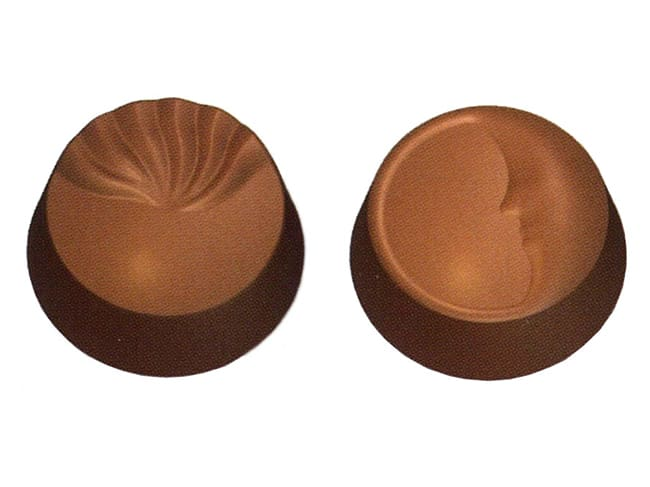 Chocolate Mould - Crescent Moon - 27.5 x 17.5cm