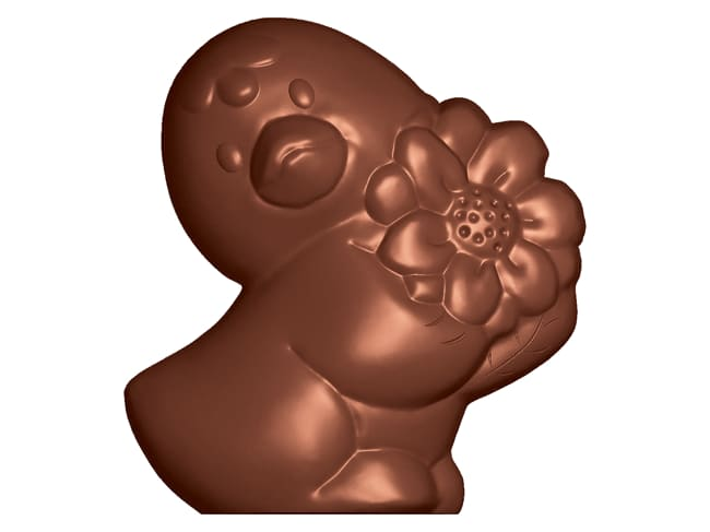 Chocolate Mould - Romantic Chick