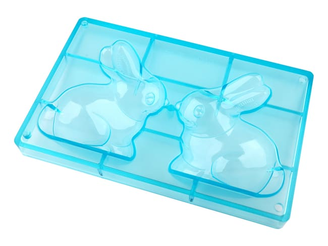 Chocolate Mould - Happy Bunny