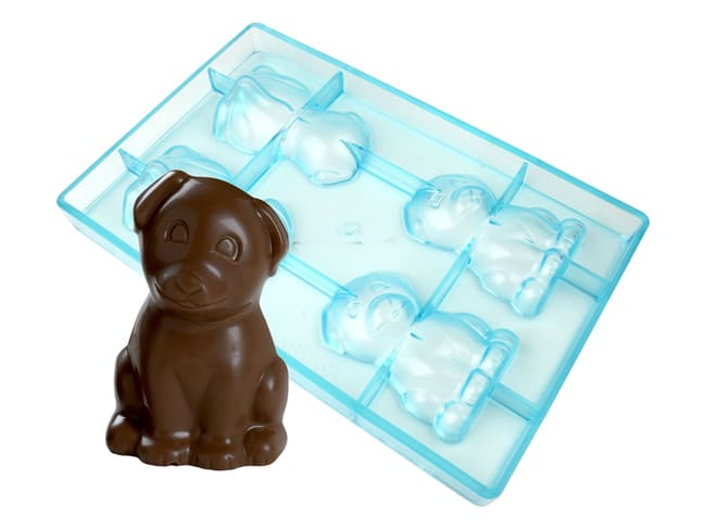 Chocolate Mould - Puppy (4 cavities)