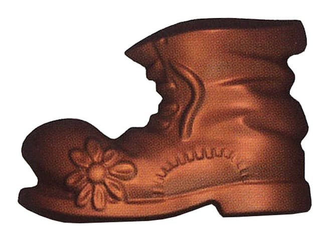 Chocolate Mould - Santa Claus Boot - 14 x 9cm