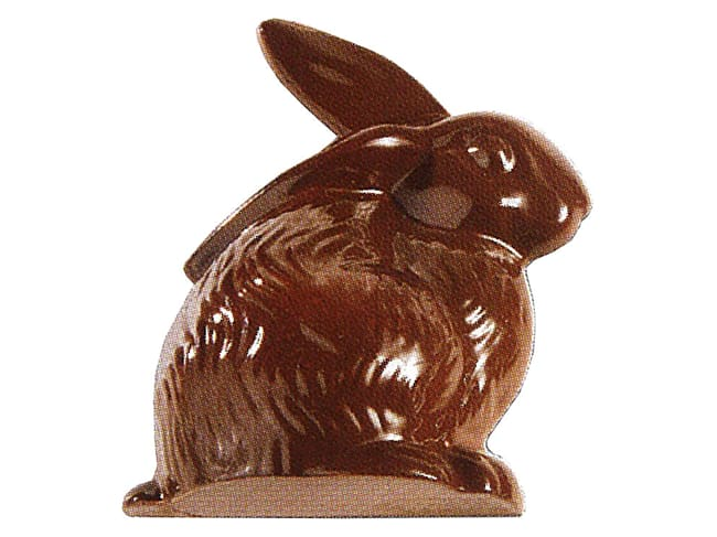 Chocolate Mould - sitting Bunny
