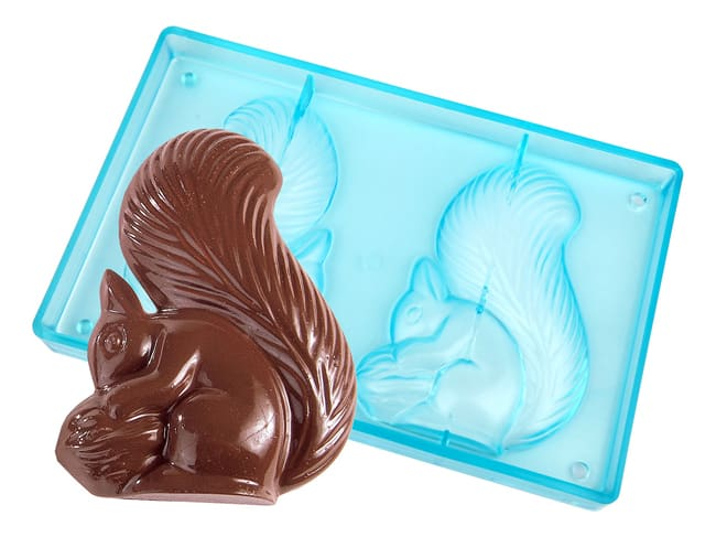 Chocolate Mould - Squirrel