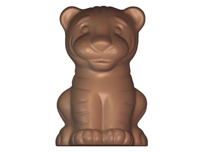 Chocolate Mould - tiger