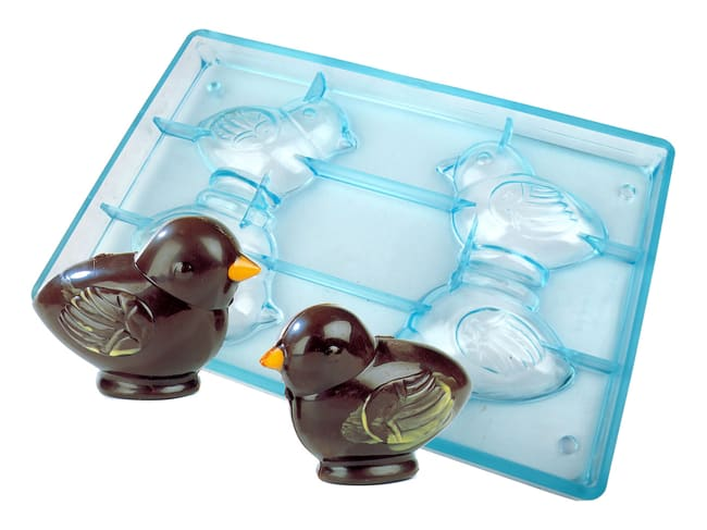 Chocolate Tritan Mould - Chick - 27,5 x 17,5cm