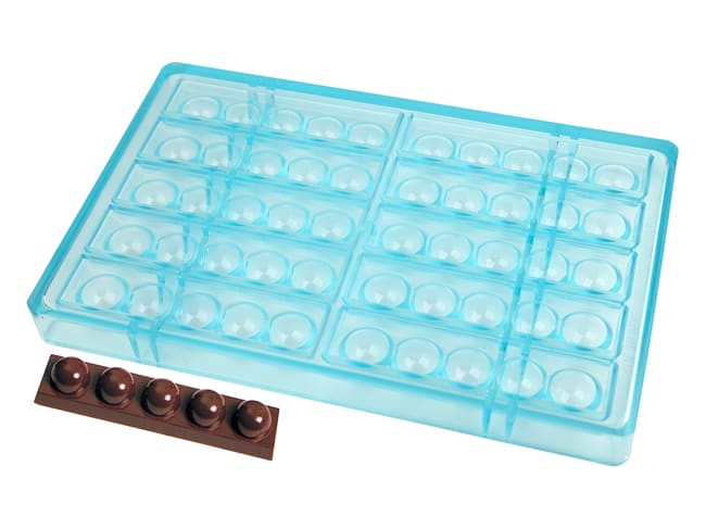 Dome Chocolate Bar Mould - 10 Bars